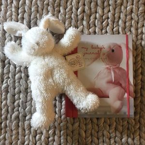 Other - Baby Journal & Plush Bunny Gift Set
